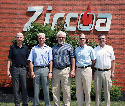 The Zircoa Management Team
